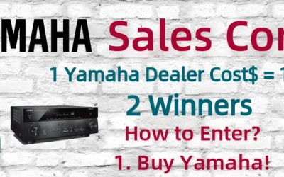 Buy Yamaha and Win is happening now!
