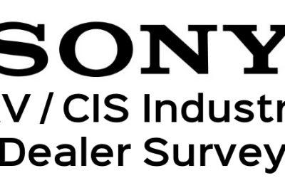 Sony AV/CI Dealer Survey